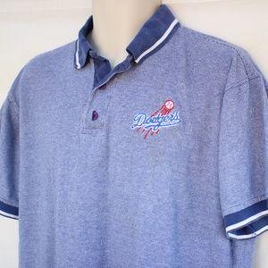 Other - LA Dodgers Stitches Men's Blue Polo Shirt Medium